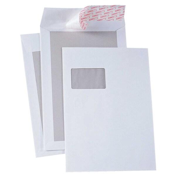 Soennecken Versandtasche 2922 C4 haftklebend PA10St mit Fenster Papprücken 100g