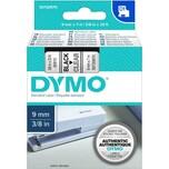 Dymo Schriftbandkassette S0720670 9mmx7m schwarz auf transparent40910 D1