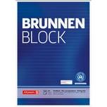 BRUNNEN Notizblock recycling A4 liniert Nr. 105261701. 50 Blatt