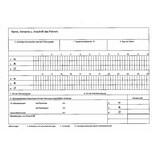 RNK Kontrollbuch f. Fahrpersonal A5 quer Nr. 3095 mit 30 Tageskontrollblätter