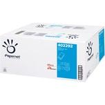 PAPERNET Papierhandtücher V-Falz 21x24cm Zellstoff weiß Nr. 402292. PA= 15x 210 Blatt