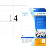 Herma Movables-Etikett Nr. 5081 weiß PA 350 Stk 105x423mm ablösbar