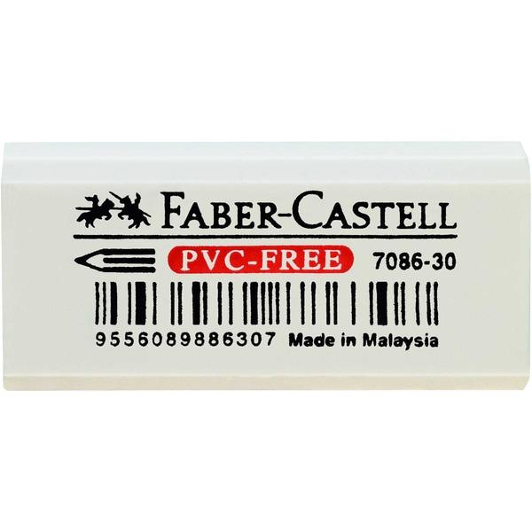 FABER-Castell Radierer Vinyl Eraser weiß Nr. 18873018x12x41mm Kunststoff