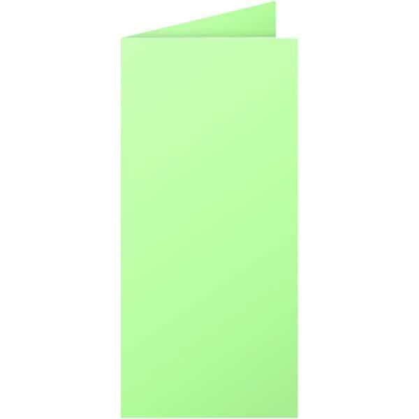 Clairefontaine Faltkarte Pollen DL 210g Nr. 12540C grün PA 25 Stück
