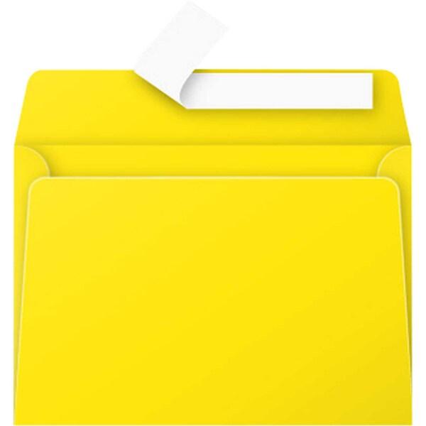 Clairefontaine Briefumschlag C6 haftkle- bend PA 20St sonne ohne Fenster 120g