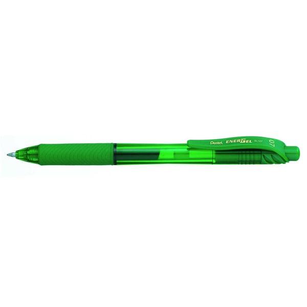 Pentel Gelroller EnerGel X Nr. BL107-DX grün Strichstärke 035mm