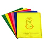 Durable Sichthülle A4 PP farbig sortiert Nr. 2337-00 PA= 100 Stück 012mm