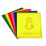 Durable Sichthülle A4 PP farbig sortiert Nr. 2337-00. PA= 100Stk . 0.12mm