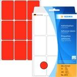 Herma Universaletikett Nr. 2472 rot PA= 288Stk. 34x53mm