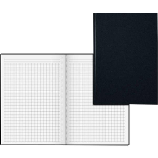 König & Ebhardt Notizbuch A4 kariert Nr. 8655226 96 Blatt schwarz/rot