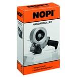 Nopi Handabroller schwarz gelb Nr. 56406 bis 50mm x 66m ungefüllt