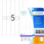 Herma Rückenschild Nr. 5165 weiß PA= 125Stk schmal/langfür Hängeordner