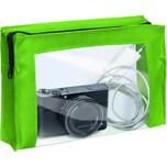 Velobag Reißverschlusstasche Travel A5 Nr. 2705341 PVC grün/transparent