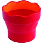 FABER-Castell Pinselwaschbox CLIC&GO Nr. 181517 10x10x10cm brombeer