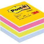 Post-it Haftnotiz 51x51mm ultrafarben Nr. 2051-U Würfel à 400 Blatt