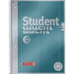 BRUNNEN Collegeblock Duo A4 kar. & lin. Nr. 1067174. 80 Blatt. Lineatur 28+27