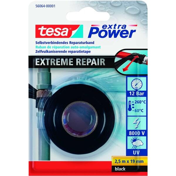 tesa Packband Exreme Repair 19mm x 25m Nr. 56064-01 schwarz