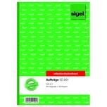 Sigel Auftragsbuch A5 hoch Nr. SD001 2 x 40Blatt selbstdurchschr.