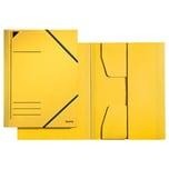 Leitz Eckspanner A4 Karton gelb Nr. 3981-15. Pendareckarton