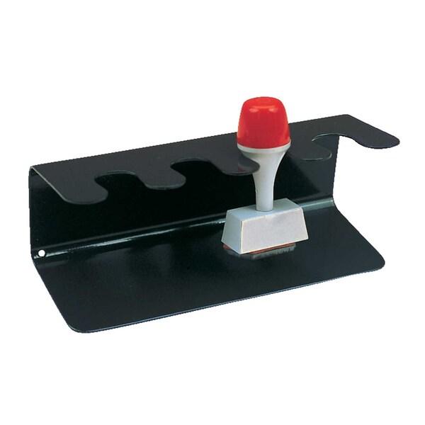 Maul Stempelträger Metall Schwarz Eckig Nr. 5220490 Für 4 Stempel Gerade Form