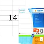 Herma SuperPrint-Etikett Nr.4625 weiß PA 2.800 Stk. 105x423mm permanent