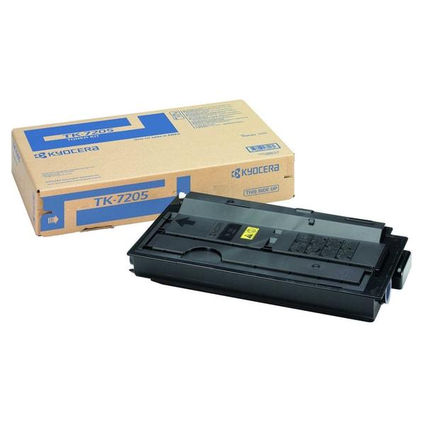 Original Kyocera Toner TK 7205 schwarz Nr. 1T02NL0NL0 ca. 35.000 Seiten