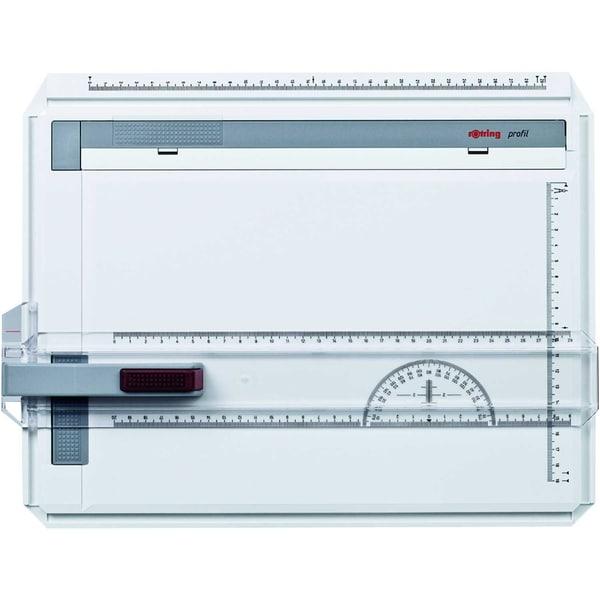 Rotring Zeichenplatte profil A4 Nr. S0232430 weiß/grau