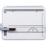 Rotring Zeichenplatte profil A4 mit freier Nullpunktwahl Kunststoff Nr. S0232430. hellgrau
