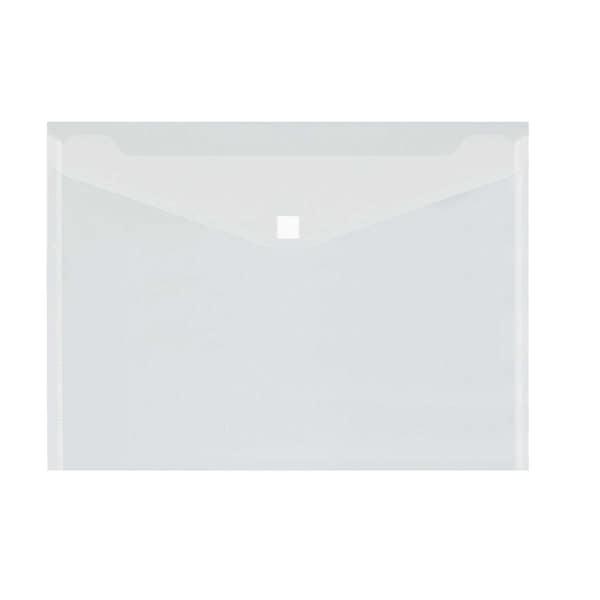 Dokumententasche A4 PP transparent PA 5St 80g/m² Klettverschluss