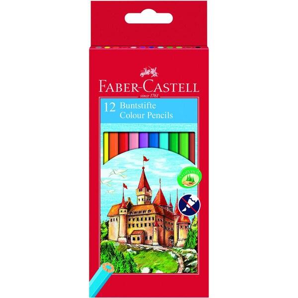 Faber-Castell Farbstift Castell Nr. 111212 sortiert PA 12Stk