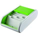 Helit Visitenkartebox Linear applegreen Nr. H6218050. für 300 Karten