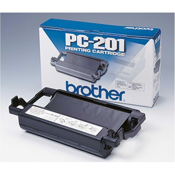 Brother Thermotransferrolle PC201 für. Fax 1010/1020/1030 420 S.