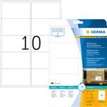 Herma Folienetikett weiß 99.1x57mm weiß Nr. 8330. PA= 250Stk. Versandetikett