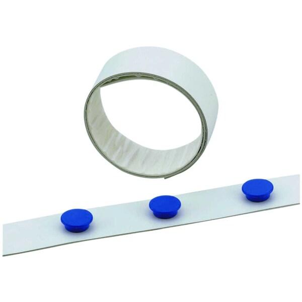 Durable Magnetband weiß Nr. 471502 35mmx5m selbstklebend