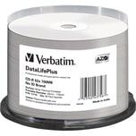 Verbatim CD-R 700MB 52x DataLife + Nr. 43756 50er Spindelthermalprintable