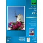 Sigel Fotopapier Inkjet A4 210g hochglänzend Nr. IP612. PA= 50Blatt