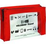 Velobag Reißverschlusstasche Travel A5 Nr. 2705321 PVC rot/transparent