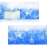 Sigel Briefumschlag Christmas Greeting Nr. DU 082 DLmit Fenster PA 25Stk