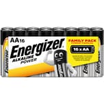 Energizer Classic Alkaline Batterie Aa Nr. 627523 15V Lr6 2.850Mah 16Stk