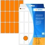 Herma Etikett Nr. 2414 orange PA 480 Stück 20x50mm