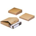 DIHAUSER Ordnerversandbox 80 braun Nr. CP058.08. 32.2x28.8x8cm. Wellpappe