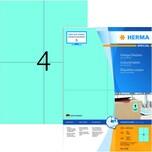 Herma Vielzwecketikett Nr. 4398 blau PA 400 Stück 105x148mm