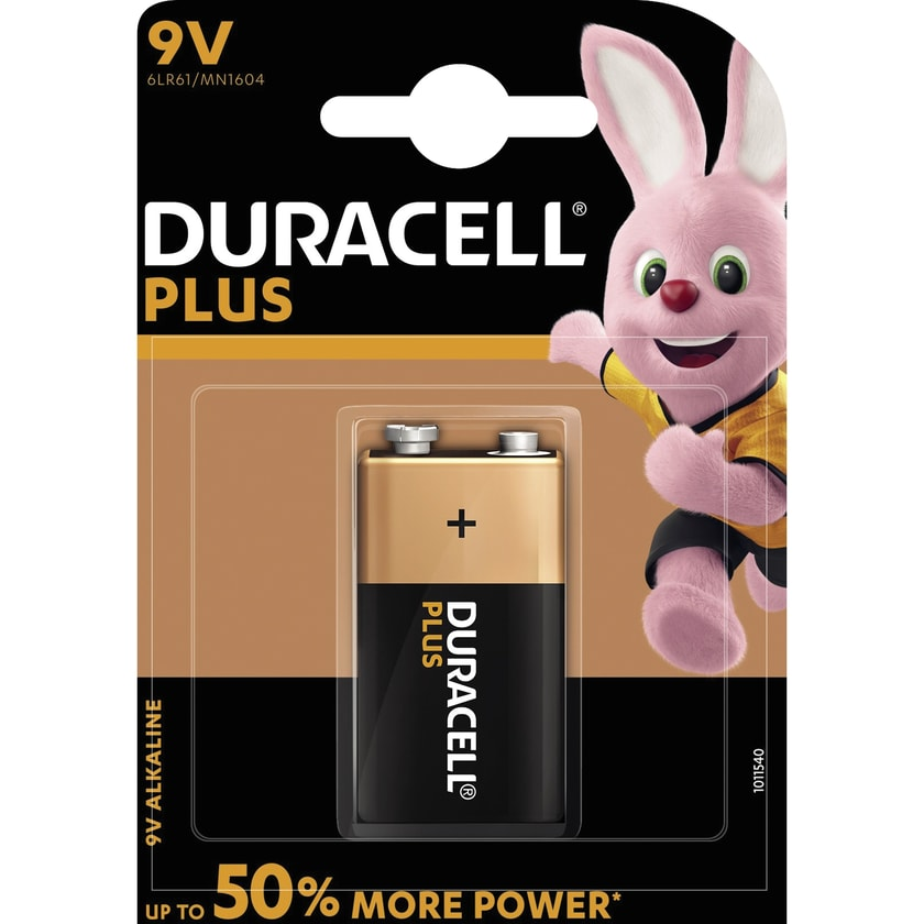 Duracell Batterie Plus Power Block Nr. DUR105485. 6LF22. MN1604. 9V