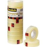 Scotch Klebeband 550 15mmx33m Nr. 5501533K. transparent