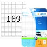 Herma SuperPrint-Etiketten Nr.4333 weiß PA 4.725Stk 254x10mm bedruckbar