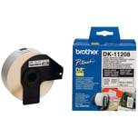 Brother Adress-Etikett DK11208 weiß PA= 400St. 38mm x 90mm