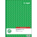 Sigel Bautagebuch A4 hoch Nr. SD056 3x 40Blatt selbstdurchschr.