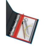 Velobag Reißverschlusstasche XXS A5 Nr. 4350020 rote Kante abheftbar