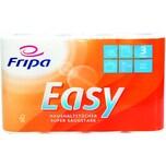 Fripa Küchenrolle EASY 3-lagig Frischzellstoff hochweiß Nr. 3074003. PA= 4 Rollen / 45 Blatt