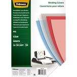 Fellowes Einbanddeckel A4 transparent Nr. 5376001 PA100Stk 150mic PVC
